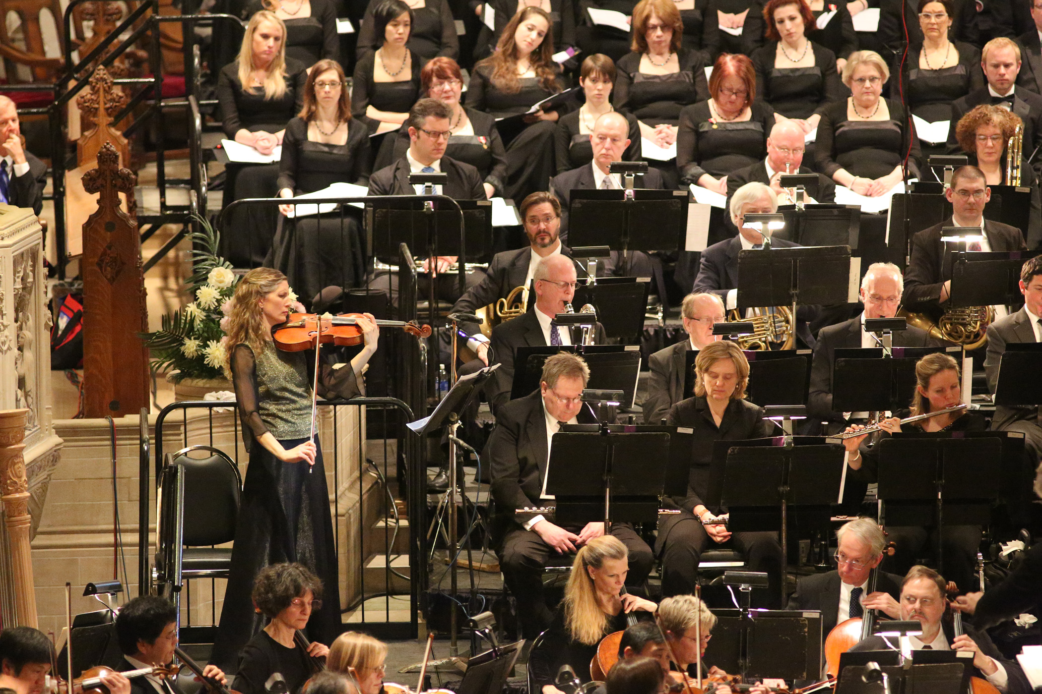 "Feb, 2014: ""Lux Aeterna"" from the Holocaust Requiem, Pittsburgh, USA"