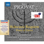 "Jun, 2015: NAXOS Records launched ""Holocaust Requiem & Poem of Dawn"" CD"